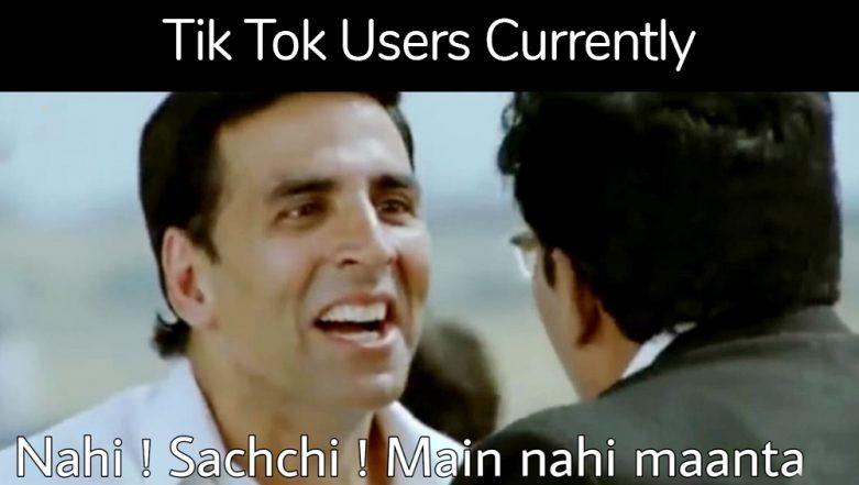 Tik Tok Ban Lifted In India Funny Memes And Jokes On Tiktok