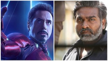 Avengers Endgame: Fans Blame South Star Vijay Sethupathi For Ruining The Marvel Movie by Dubbing For Tony Stark AKA Iron Man (Read Tweets)