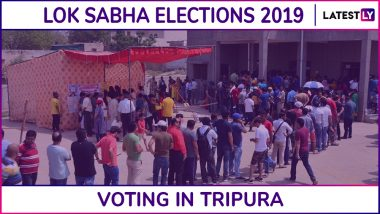 Tripura Lok Sabha Elections 2019: Phase 3 Voting Ends for Tripura East Parliamentary Constituency, 78.37% Voter Turnout Recorded