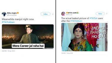 Funny Tik Tok Memes: While Government Bans the Chinese Video Sharing App Netizens Remember It With These Viral Memes and Jokes