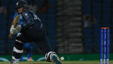 Scotland Batsman George Munsey Blasts 25-ball Hundred, Helps Team Score 326 in 20 Overs