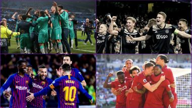 UEFA Champions League 2019 Semi-Finals Schedule Free PDF Download Online: Full Timetable With Match Dates, Fixture Timings and Venue Details