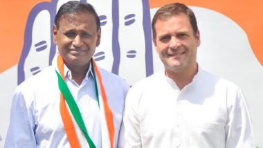 Udit Raj Joins Congress After BJP Denies Him Lok Sabha Ticket From North West Delhi