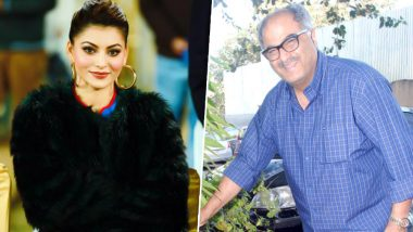 Urvashi Rautela Gives a Fitting Reply on Her Viral Video With Boney Kapoor, Slams Media for Disrespecting Women