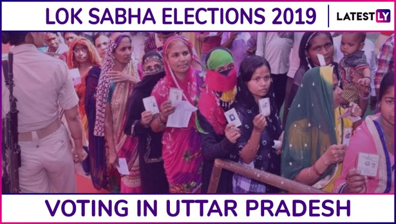 Uttar Pradesh Lok Sabha Elections 2019: Phase 3 Voting Ends in All 10 Parliamentary Constituencies, 57.74% Voter Turnot Recorded