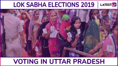 Uttar Pradesh Lok Sabha Elections 2019: Phase 5 Voting Ends in Amethi, Raebareli, Lucknow and 11 Other Constituencies; 57.07% Voter Turnout Recorded