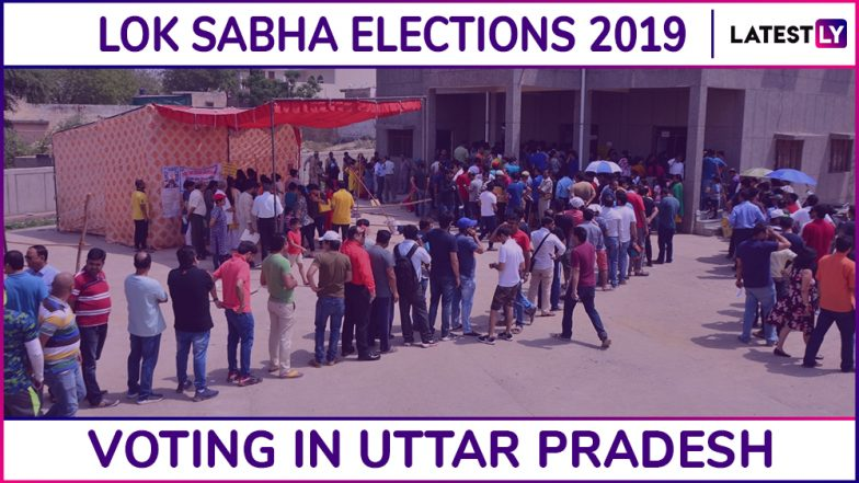 Uttar Pradesh Lok Sabha Elections 2019: Phase 2 Voting Ends, 58.12 Percent Voting Registered