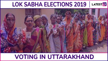 Uttarakhand Lok Sabha Elections 2019: Voting For Haridwar, Tehri Garhwal and 3 More Constituencies End, 57.85% Voter Turnout Recorded in Phase I
