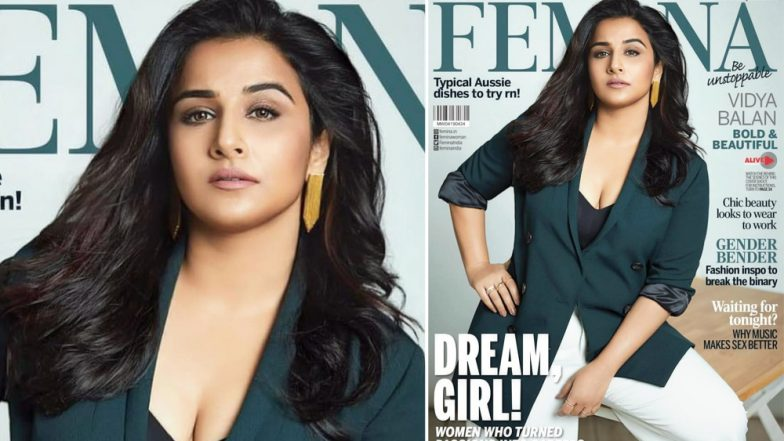Vidya Balan: The Otherwise 'Bold & Beautiful' Star Is 'Blah' On Femina Cover! View Pic