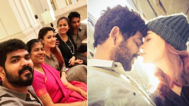 Wedding Bells for Nayanthara and Vignesh Shivan? This Family Pic Spark Rumours of a Marriage