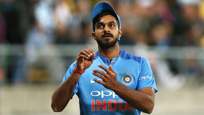 ICC Cricket World Cup 2019: Relief for Team India as No Fracture Detected in Vijay Shankar's Scan Report