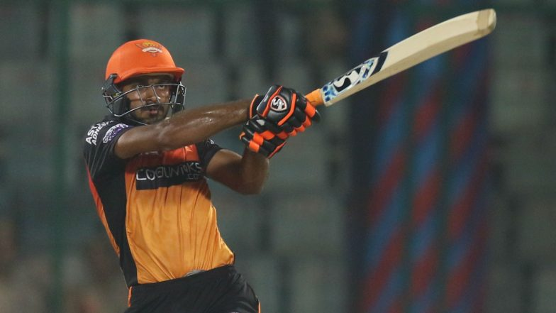 Batting at Top for SRH, Not for a Place in Indian Squad for ICC Cricket World Cup 2019; Says Vijay Shankar