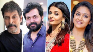 Vikram Prabhu, Karthi, Aishwarya Rai Bachchan, Keerthy Suresh Come Together for Mani Ratnam's Ponniyin Selvan?
