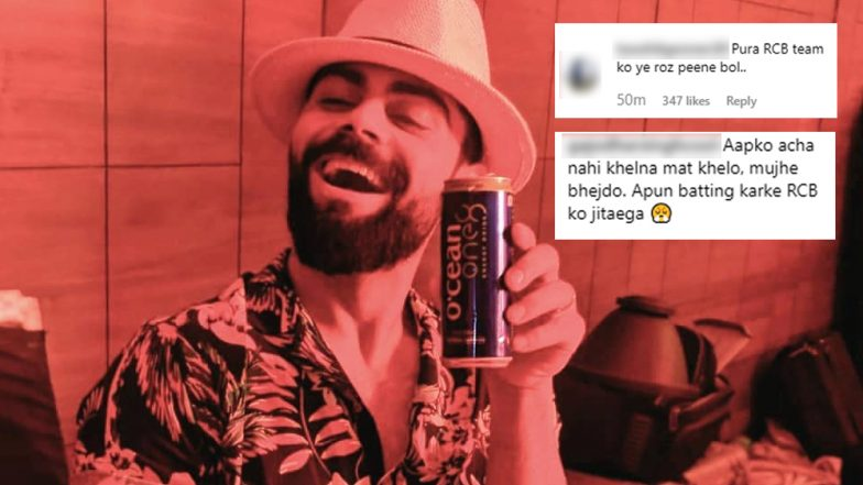 RCB Memes Apart, Now Virat Kohli Receives Negative Comments on His Latest Instagram Post Ahead of KXIP vs RCB IPL 2019 Match!
