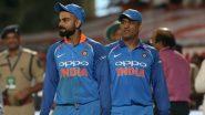 Virat Kohli 81 Runs Away From Breaking This MS Dhoni Record Ahead of IND VS NZ T20I Series 2020