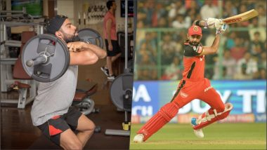 Virat Kohli Gets Into Beast Mode! RCB Skipper Shares Pic From the Gym, Says 'Believe in Yourself' After Team's Successive Defeats in IPL 2019