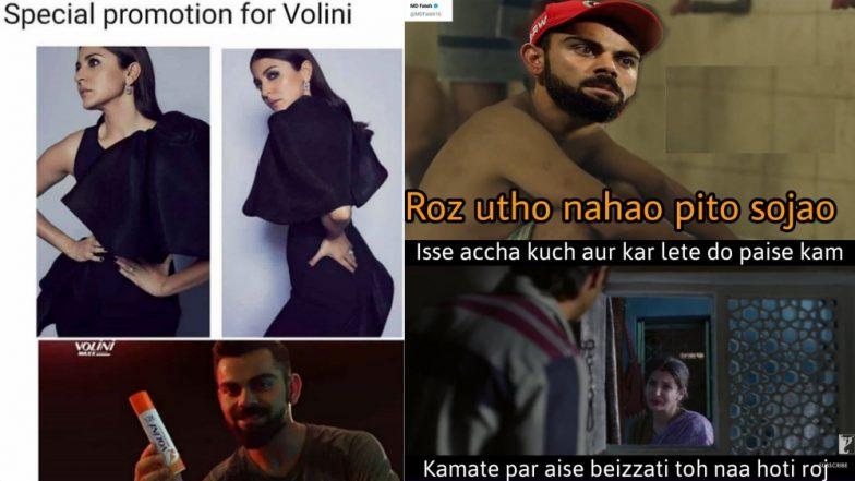 RCB Memes Target Virat Kohli While Wifey Anushka Sharma Trolled for Her 'Fashion Sense', Check Out Funny Tweets and Photos