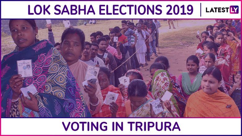 Tripura Lok Sabha Elections 2019: Phase I Polling Concludes, Over 80.4 Percent Voters Exercise Franchise