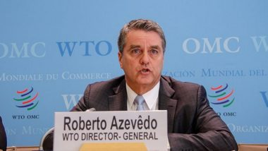 WTO Scales Back Trade Growth Projections, Says Trade Wars Hurting Global Economy
