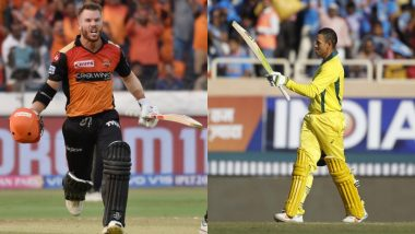 ICC World Cup 2019: Aaron Finch Hints Either David Warner or Usman Khawaja Will Open with Him