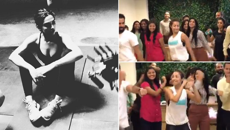 World Health Day 2019: Deepika Padukone Posts Sexy Fitness Pics While Malaika Arora Dances On Chaiyya Chaiyya- Watch Video