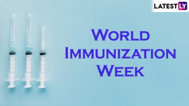 World Immunization Week 2019: Theme, Significance and History of the Day that Promotes Vaccine Awareness