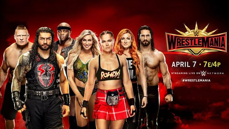 WWE WrestleMania 35 April 7, 2019 Live Streaming & Full Match Card: Preview, TV & Free Online Telecast Details of Today's Fights