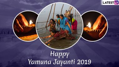 Yamuna Chhath 2019 Wishes in Hindi: Best WhatsApp Messages, Images, SMS, GIF Greetings to Wish on Yamuna Jayanti