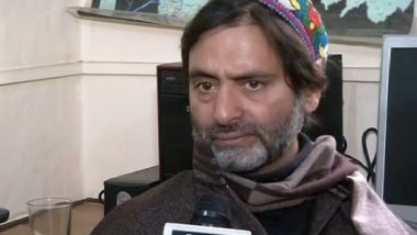 Yasin Malik's JKLF-Y Declared 'Unlawful Association' by Narendra Modi Government on 'Credible Grounds'