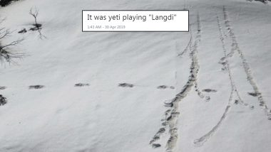Yeti Footprints' Pictures Turn Into Funny Memes: Twitterati Have a Field Day Sharing Hilarious Jokes on Himalayan Bigfoot