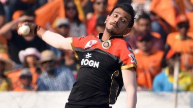 Bangalore Spinner Yuzvendra Chahal Was in Celebration Mood Post Victory in RCB vs KXIP Match IPL 2019 (Watch Video)