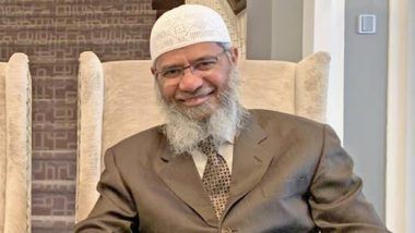 Zakir Naik Extradition Row: India Issues Formal Request to Malaysia