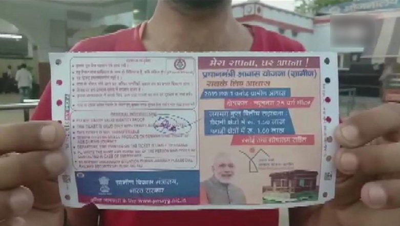 PM Narendra Modi's Picture on Train Ticket: Indian Railways Suspends Four Employees
