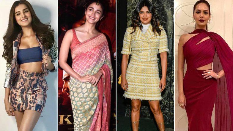 Tara Sutaria, Alia Bhatt and Priyanka Chopra Slay in their Fashion Outings This Week - View Pics