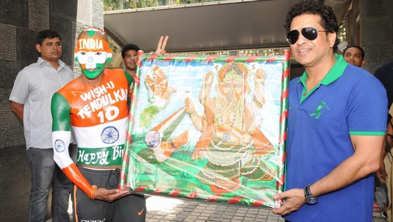 Global Sports Fan Awards for Iconic Sachin Tendulkar's Worshiper Sudhir Kumar Gautam
