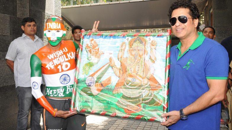 Global Sports Fan Awards for Iconic Sachin Tendulkar's Worshiper Sudhir Kumar Gautam