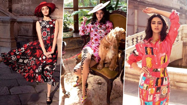 Hello Mademoiselle! Ananya Panday's Debut Photoshoot for Elle India is Equal Parts Chic and Pretty - View Pics