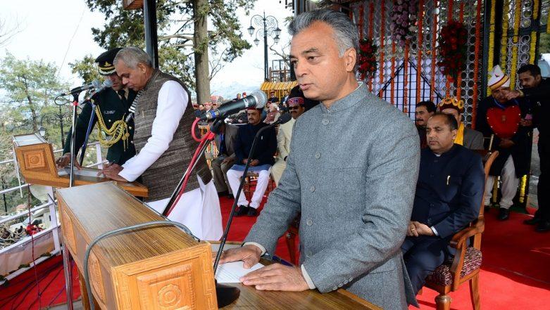 Lok Sabha Elections 2019: BJP Minister Anil Sharma Quits Over Love for His Son-cum-Congress Candidate Ashray Sharma