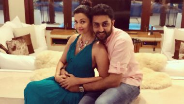 Aishwarya Rai Bachchan and Abhishek Bachchan's Togetherness Picture Attracts Celebrity Wishes