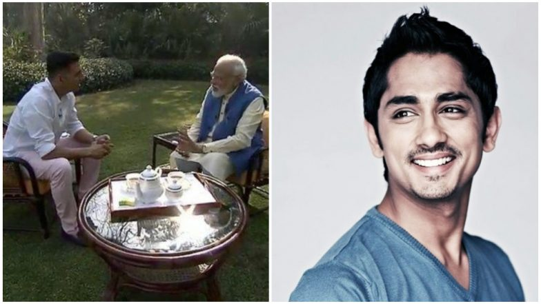 Siddharth Takes a Dig at Akshay Kumar After Modi Interview, Calls Him 'Underrated Villian'