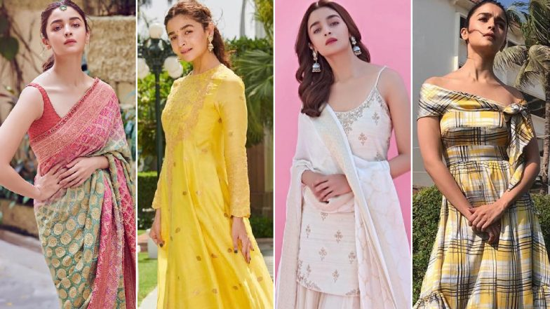 Alia Bhatt's Promotional Style File for Kalank Was Conventional Yet Chic - View Pics
