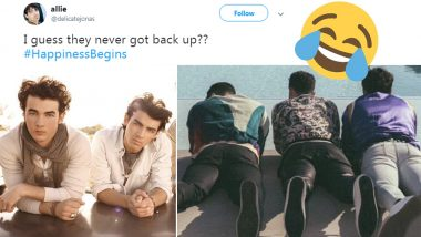 Jonas Brothers' 'Happiness Begins' Album Cover Has Called for a Meme Fest on Twitter; Check Out Some of the Funniest Ones