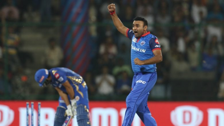 Amit Mishra Becomes First Indian Bowler to Take 150 Wickets in IPL, Achieves Feat During DC vs MI Match in Delhi