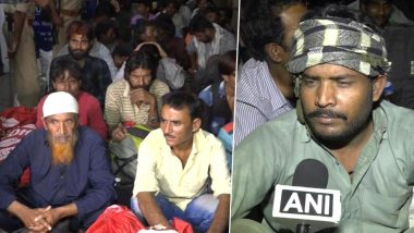 100 Indian Fishermen, Who Returned via Attari-Wagah Border After Being Released by Pakistan on April 8, Reach Gujarat