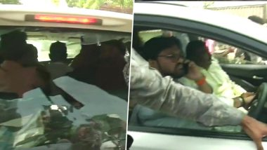 Babul Supriyo's Car Vandalised Outside Polling Booth in West Bengal's Asansol by Alleged TMC Workers