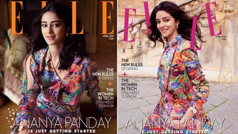 Student of the Year 2 Actress Ananya Panday Looks Refreshing on her Debut Magazine Cover for Elle India - View Pics
