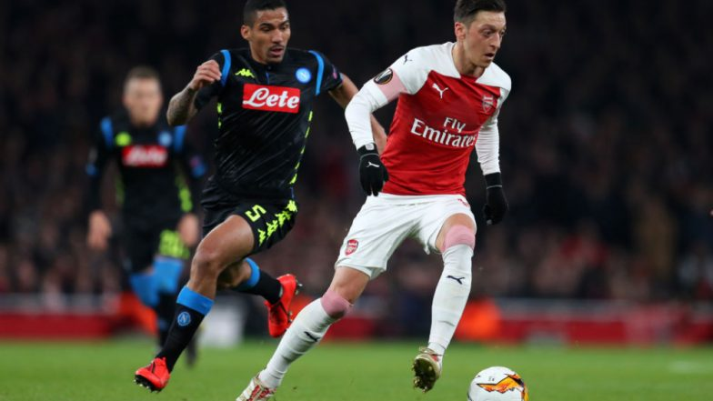 Napoli vs Arsenal, UEFA Europa League Live Streaming Online: How to Get Football Match Live Telecast on TV & Free Score Updates in Indian Time?
