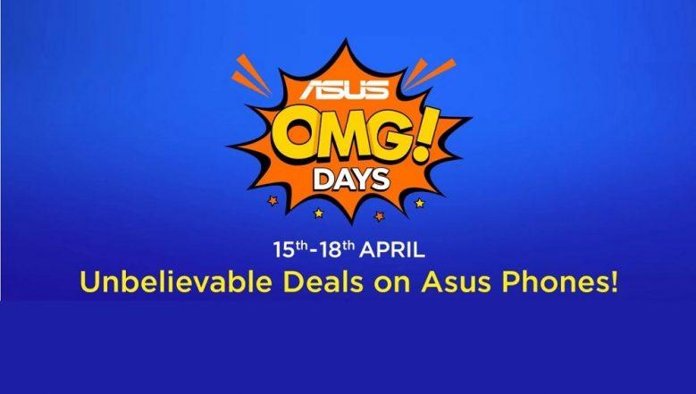 Asus OMG Days Sale on Flipkart: Get Up To Rs 3000 Discount on Asus Zenfone 5Z, Zenfone Max Pro M1, Zenfone Max M2 & Lite L1