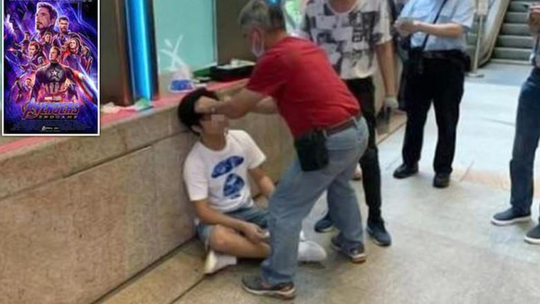 Avengers Endgame: Man Brutally Beaten and Left Bloodied by Marvel Fans After He Loudly Revealed the Surprise Ending of the Movie Outside Hong Kong Cinema Hall (View Pics)