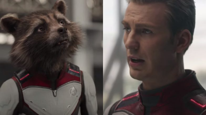 Avengers Endgame Hindi Promo: Rocket Raccoon Wants Captain America to Run for Elections – Watch Video